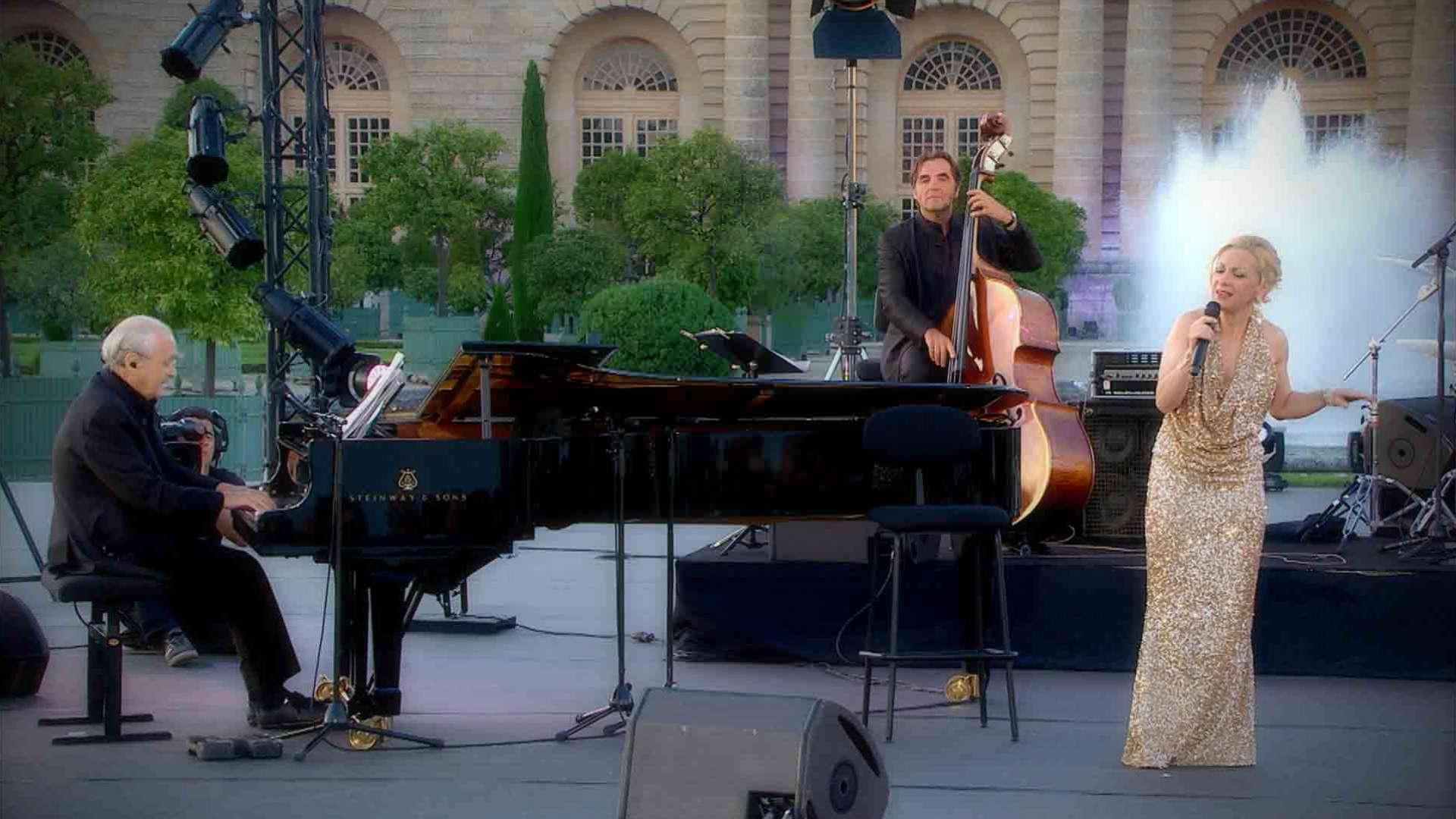 ミシェル・ルグラン&ナタリー・デセイ:ライヴ・イン・ヴェルサイユ2014